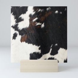 Cowhide Farmhouse Decor Mini Art Print