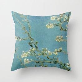 Vincent Van Gogh - Almond Blossoms Throw Pillow
