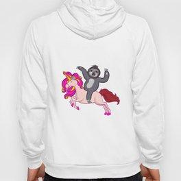 Sloth Riding Unicorn Tee Gift Hoody