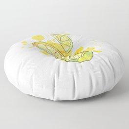 Lemon juice Floor Pillow