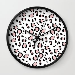Leopard Animal Print Glam #7 #pattern #decor #art #society6 Wall Clock