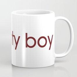 red naughty crimson Coffee Mug