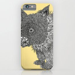 Little Wombat iPhone Case