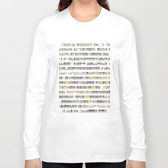 Walter White's Wardrobe - Complete Series Long Sleeve T-shirt