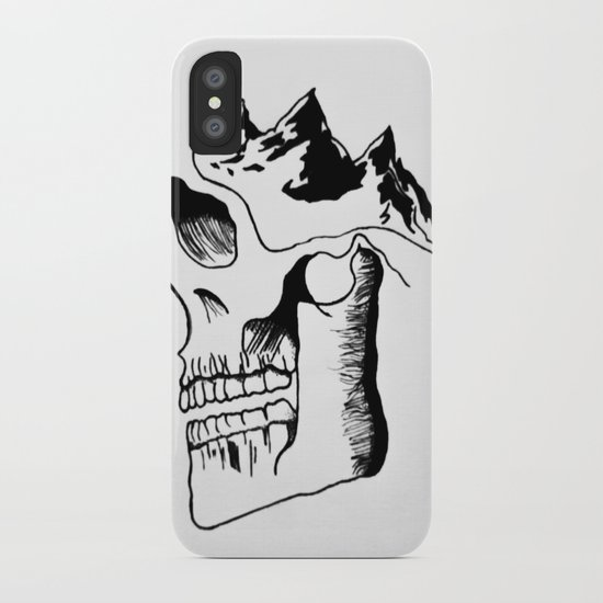 Possessed by the Mountains iPhone Case