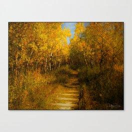 Old Spur Line Canvas Print