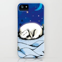 ours polaire iPhone Case