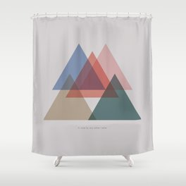Rose Three Shower Curtain