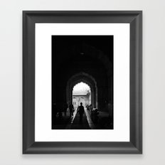 Path of the righteous Framed Art Print