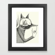 'A Thought' Framed Art Print