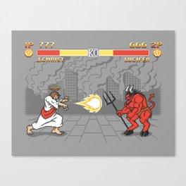 The Final Battle Canvas Print