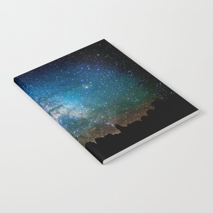 The Milky Way Mountains Notebook