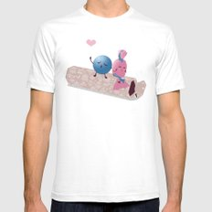 Sweet Talk Mens Fitted Tee White SMALL