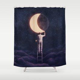 Carpe Noctem Shower Curtain