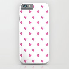 Flying Hearts (Pink) iPhone 6s Slim Case