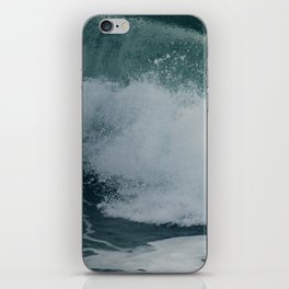 wave motion // no. 8 iPhone Skin