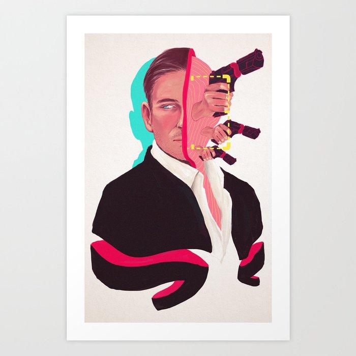The Man in the Suit Kunstdrucke