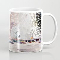 nyc Mugs featuring NYC by Christine Workman