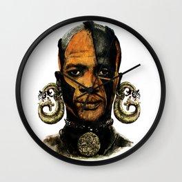 Man AFRICAN Wall Clock