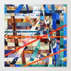 Gwenola (stripes 24) Canvas Print
