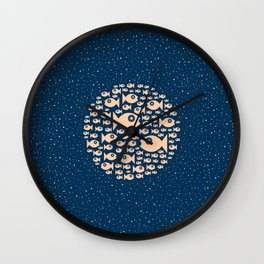 Fish Circle Wall Clock