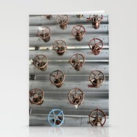 industrial Stationery Cards featuring Industrial by Avigur