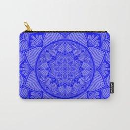 Cobalt Mandala 2 Carry-All Pouch