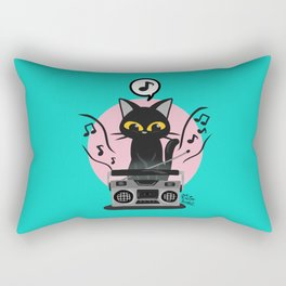 Radio music Rectangular Pillow
