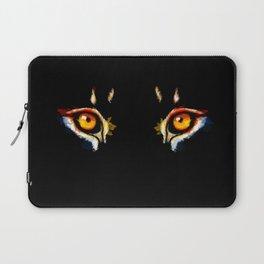 Lion Eyes Laptop Sleeve