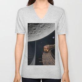 Moon Ride Unisex V-Neck