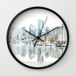 Vancouver Skyline Wall Clock