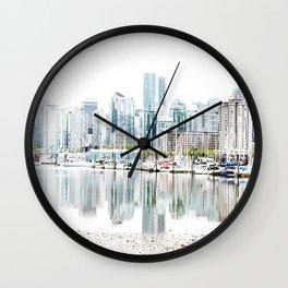 Vancouver Skyline Wall Clock