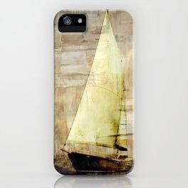 big sailboat iPhone Case