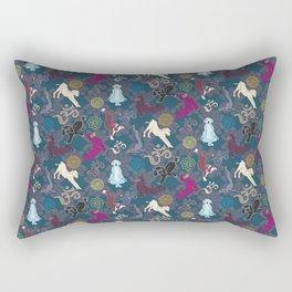 Doga (The Zen Puppy) Rectangular Pillow