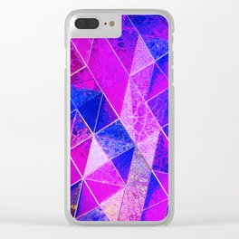 Geometria Clear iPhone Case