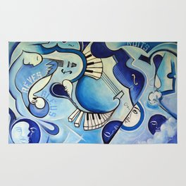 Reves Bleus (blue dreams) Rug