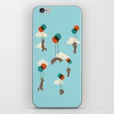 Flight of the Wiener Dogs iPhone & iPod Skin