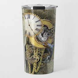 Steampunk letter C Travel Mug