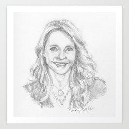 Patti Callahan Henry Art Print