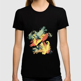 Intuitive Conversations, Abstract Mid Century Colors T-shirt