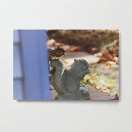 Chipmunk IV Metal Print