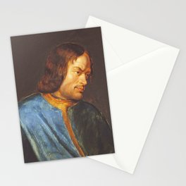Lorenzo de Medici Rubens, antique fine art painting Stationery Cards