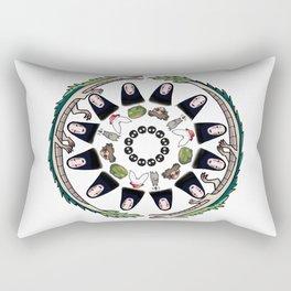 SPIRITED AWAY MANDALA Rectangular Pillow