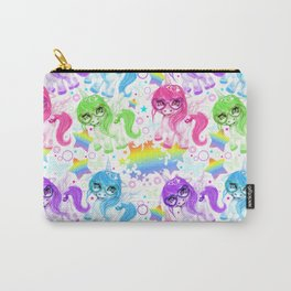 Rainbow CutieCorn Pattern Carry-All Pouch
