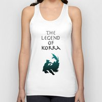 the legend of korra Tank Tops featuring The Legend of Korra [1/2] by Shane Lewis
