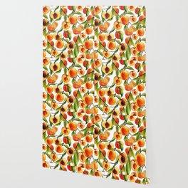 Passionate for peaches Wallpaper
