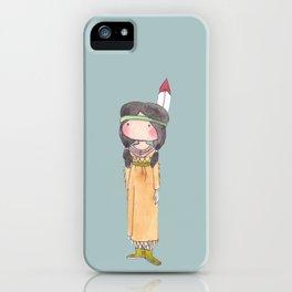 Peter Pan's Tigerlily iPhone Case