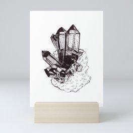 Quartz Crystal Mini Art Print