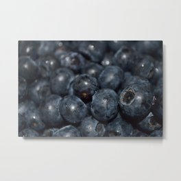 A very blue berry Metal Print