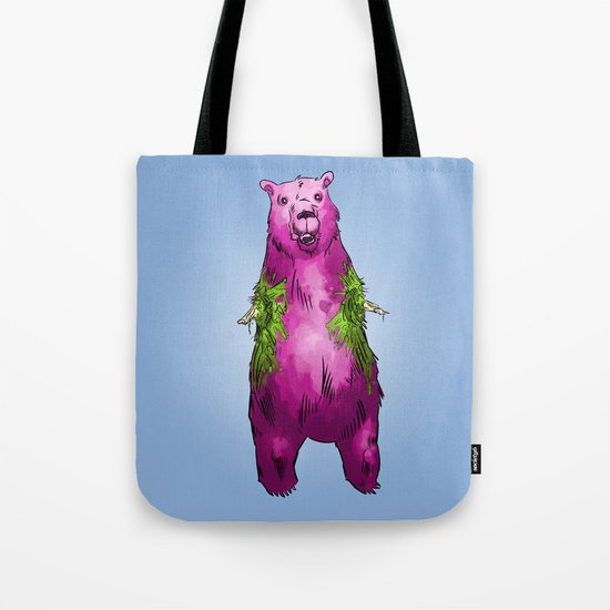Armless Bear in Nature Tote Bag